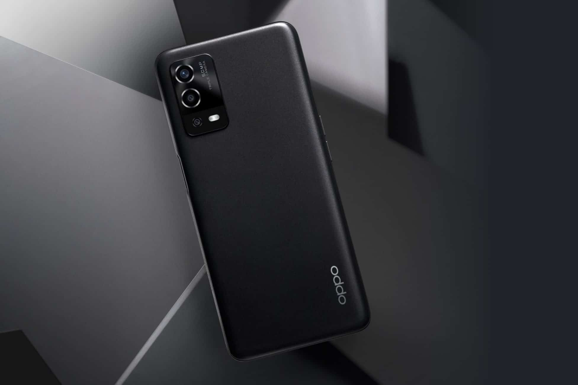 OPPO A55 Starry Black Featured