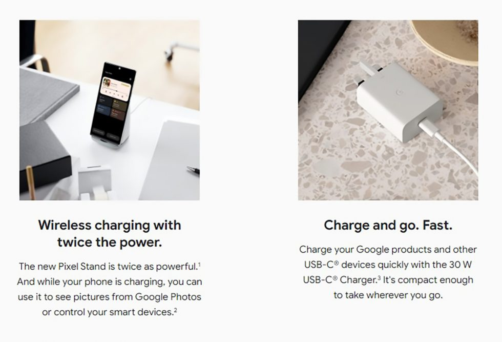 Pixel Stand, 30W Charging
