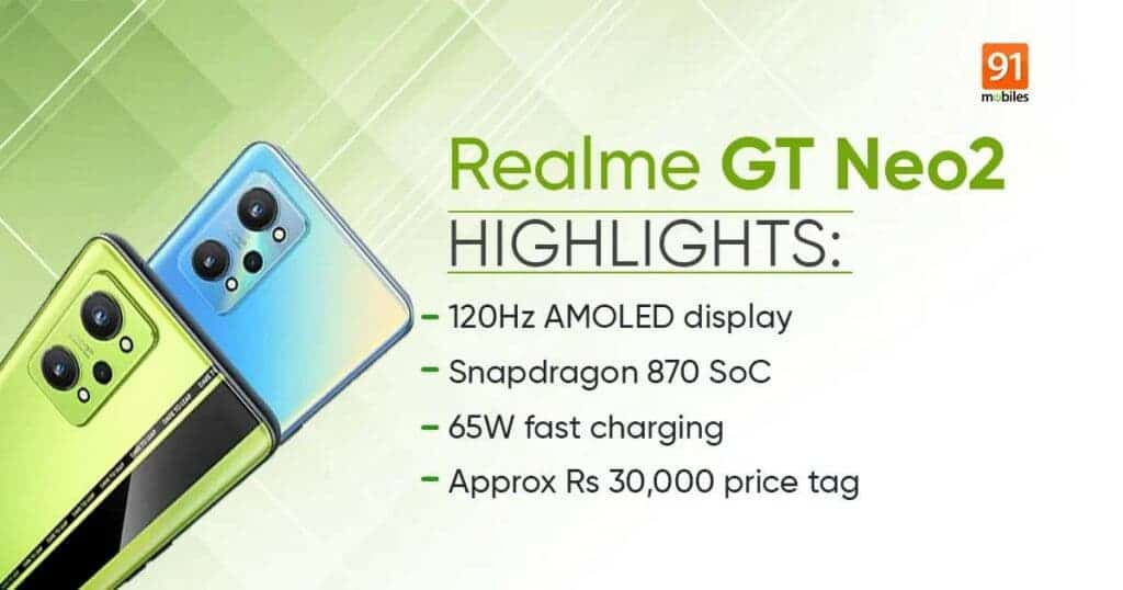 Realme GT Neo2 specifications